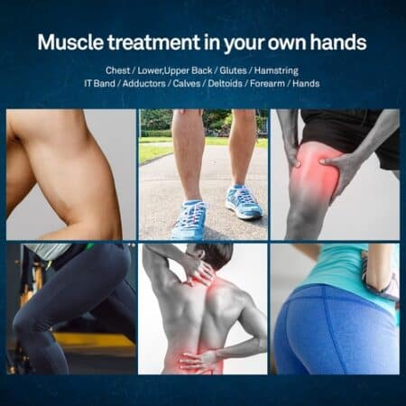 muscle treatment in your own hands