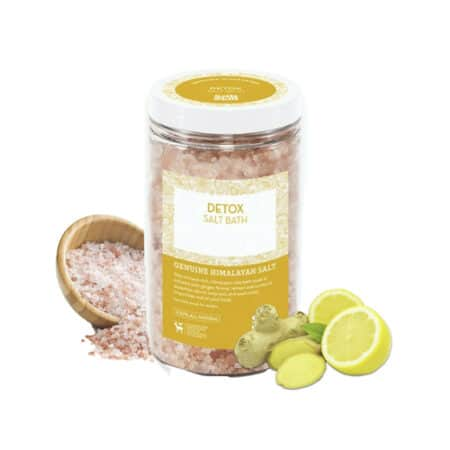 Himalayan Soaking Bath Salts Detox 32 OZ