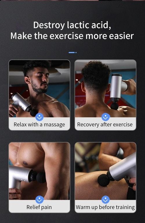 Pre Workout Massage Gun